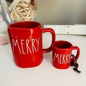 rae Dunn merry set mug